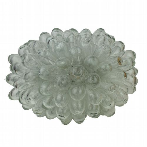 Recycled Glass Grape Lamp - Large - Clear